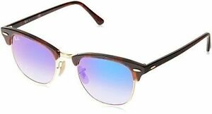 5d8f31d6e8 Sunglasses Ray-Ban Clubmaster Rb3016 990 7q 51 Havana Blue for sale ...