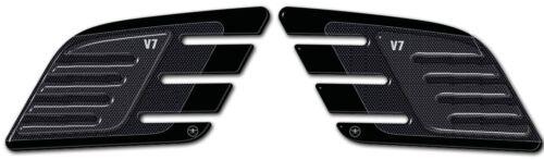 2 Schutz Knie Seitenlichter Tank 3D Kompatibel für Moto Guzzi V7 neu