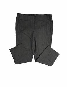 Loft-Women-s-Size-12-Flat-Front-Floral-Ankle-Crop-Pants