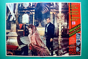 T05 Fotobusta Stolz E Passion Sophia Loren Cary Grant Frank Sinatra Kramer 1
