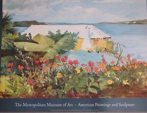 Winslow-Homer-Flower-Garden-and-Bungalow-Bermuda-1899-The-Metropolitan-Museum