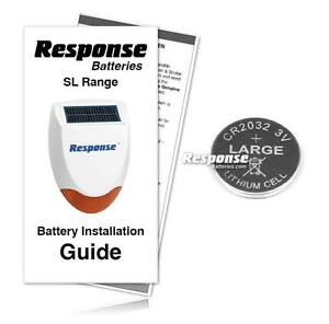 response friedland alarms hs3 remote control replacement response battery kit ebay. Black Bedroom Furniture Sets. Home Design Ideas