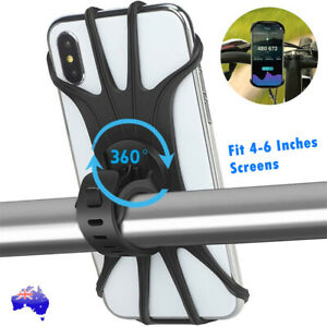 Mobile Phone Holder Handlebar Mount 360° Rotation for Motorcycle Bicycle Bike AU