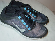 39a771dc51c0 2013 Womens Nike Free 3.0 V5 EXT Black Metallic Silver Running Shoes! Size  6.5