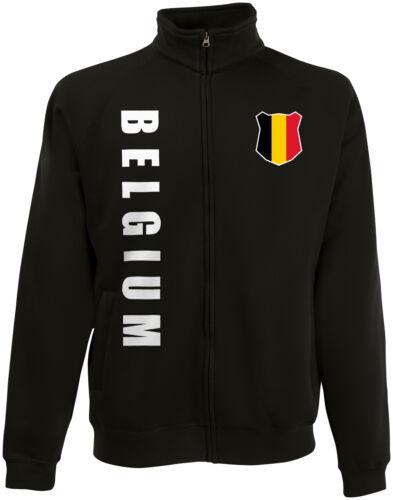 Belgio Belgium WM 2018 Felpe Giacca Maglia nome numero
