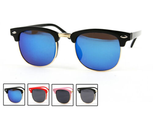New Children/'s Kids Colored Frame Wayfarer Style Sunglasses #P1306
