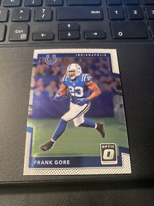 2017 Panini Donruss Optic Football FRANK GORE #60 *COLTS