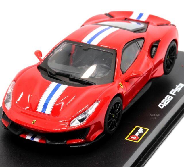 Ferrari Signature 488 Pista Diecast Model Car For Sale Online Ebay