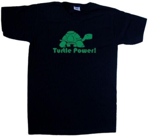 Turtle Power Funny V-Neck T-Shirt