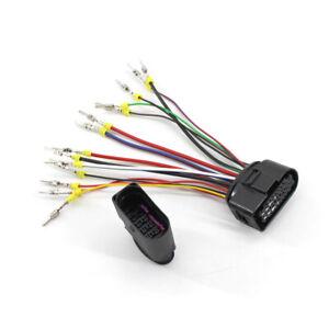 Xenon Headlight 10 to 14 Pin Wiring Harness Connector Plug Adapter for VW  AUDI | eBay | Audi Q5 Xenon Wiring Diagram |  | eBay