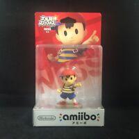 Nintendo Super Smash Bros Wii U Ness Amiibo (japanese Version)
