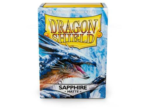 5/% OFF 2+ Sapphire Matte 100 ct Dragon Shield Sleeves FREE SHIPPING