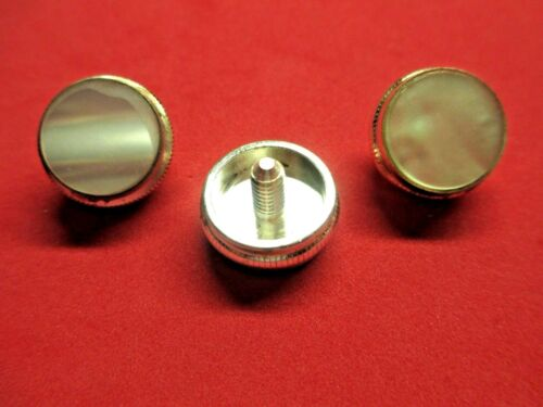 New King Trumpet/Cornet Silver Finger Buttons! Set of 3, Free Shipping!