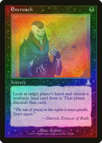 Encroach FOIL Urza/'s Destiny NM Black Uncommon MAGIC GATHERING CARD ABUGames