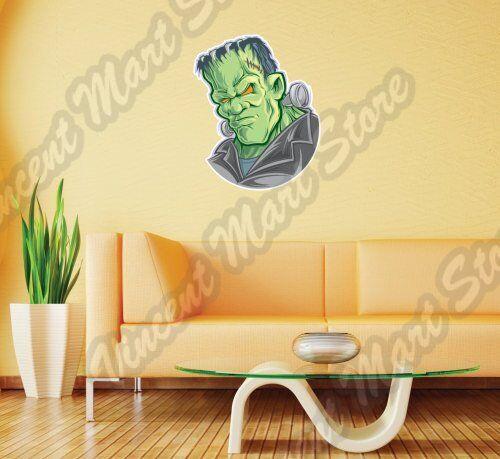 buy frankenstein monster dead creature cartoon wall sticker exterior