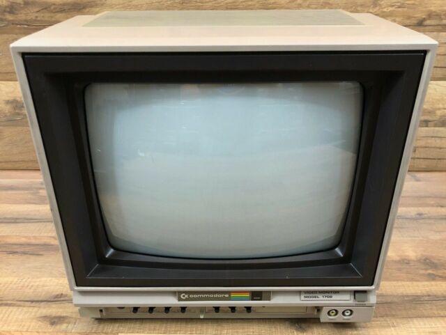 Vintage Commodore Model 1702 Video Monitor