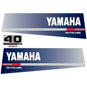 Image Is Loading Yamaha 40 O R LOTH Autolube Outboard 1991 Decal