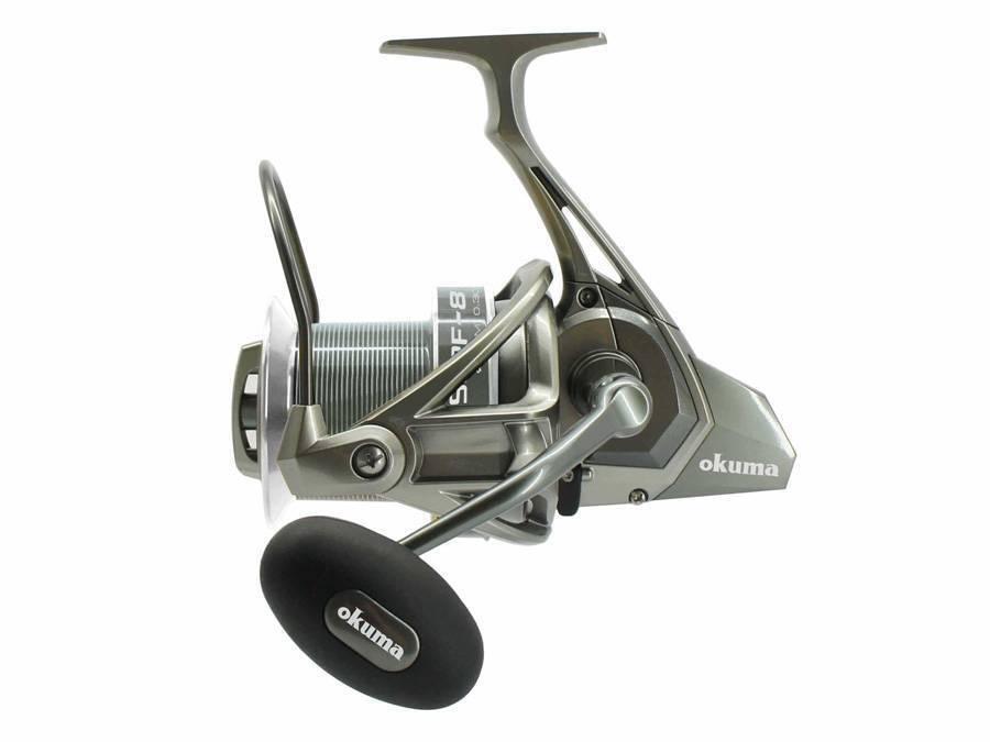 Okuma Surf 8K   redor brake system   Aluminium spool   Fast drag system