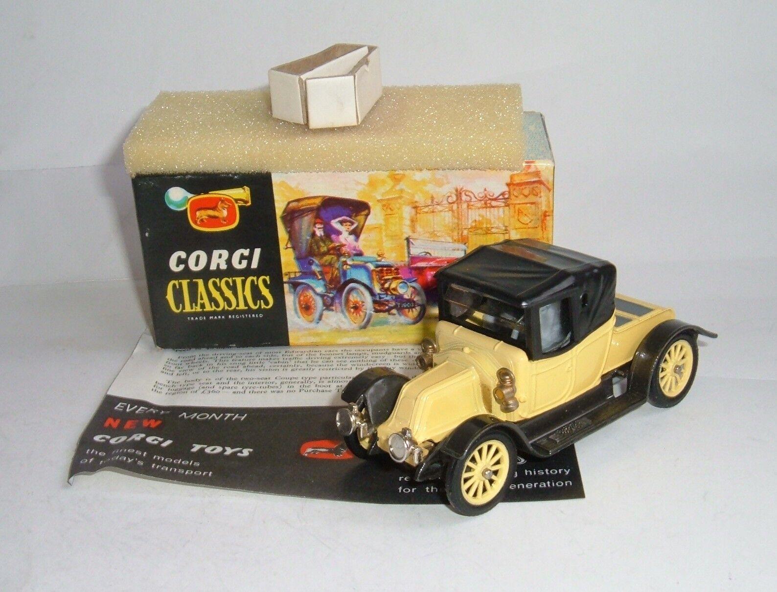 CORGI CLASSIC TOYS no 9032, 1910 Renault, - SUPERBE