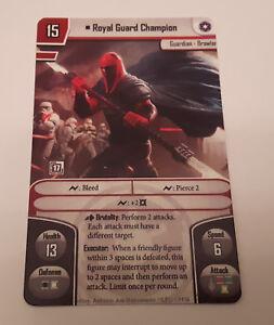 Star Wars Imperial Assault Trandoshan Hunter Promo Cards x3 *FREE SHIPPING!*