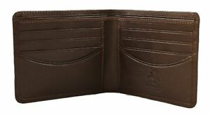 Visconti HT8 Mens Genuine Leather Bifold Wallet ID Credit Card Holder Black Gift