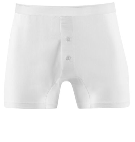Top Quality Sunspel Superfine Cotton 2  Button front trunk in White OR Black