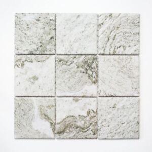 Détails sur Mosaïque céramique pierre look structure gris clair mur  22-HWA9LG_f | 10 plaques