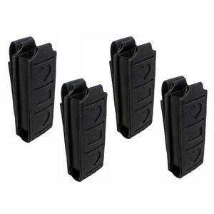 LOT-of-4-Molle-Single-Magazine-Pouch-Elastic-Magazine-Holder-Tool-Holster-Black