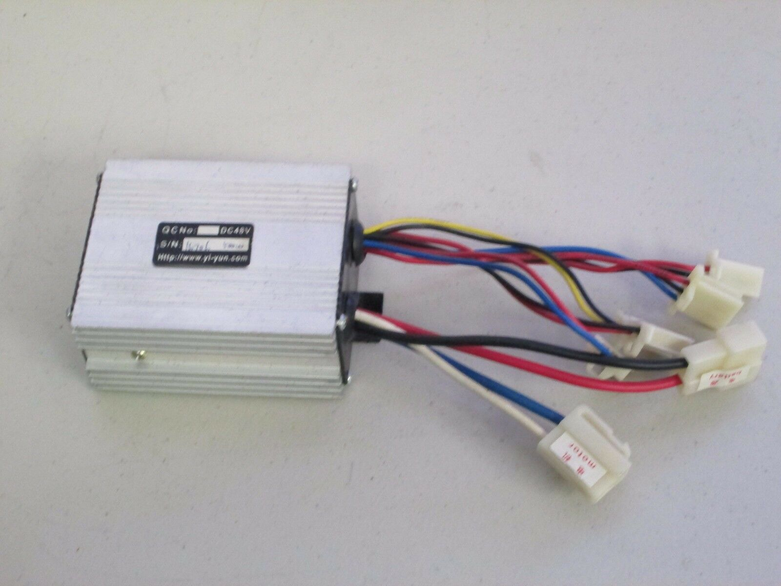 48V Controller Box with 7 Labeled Connectors