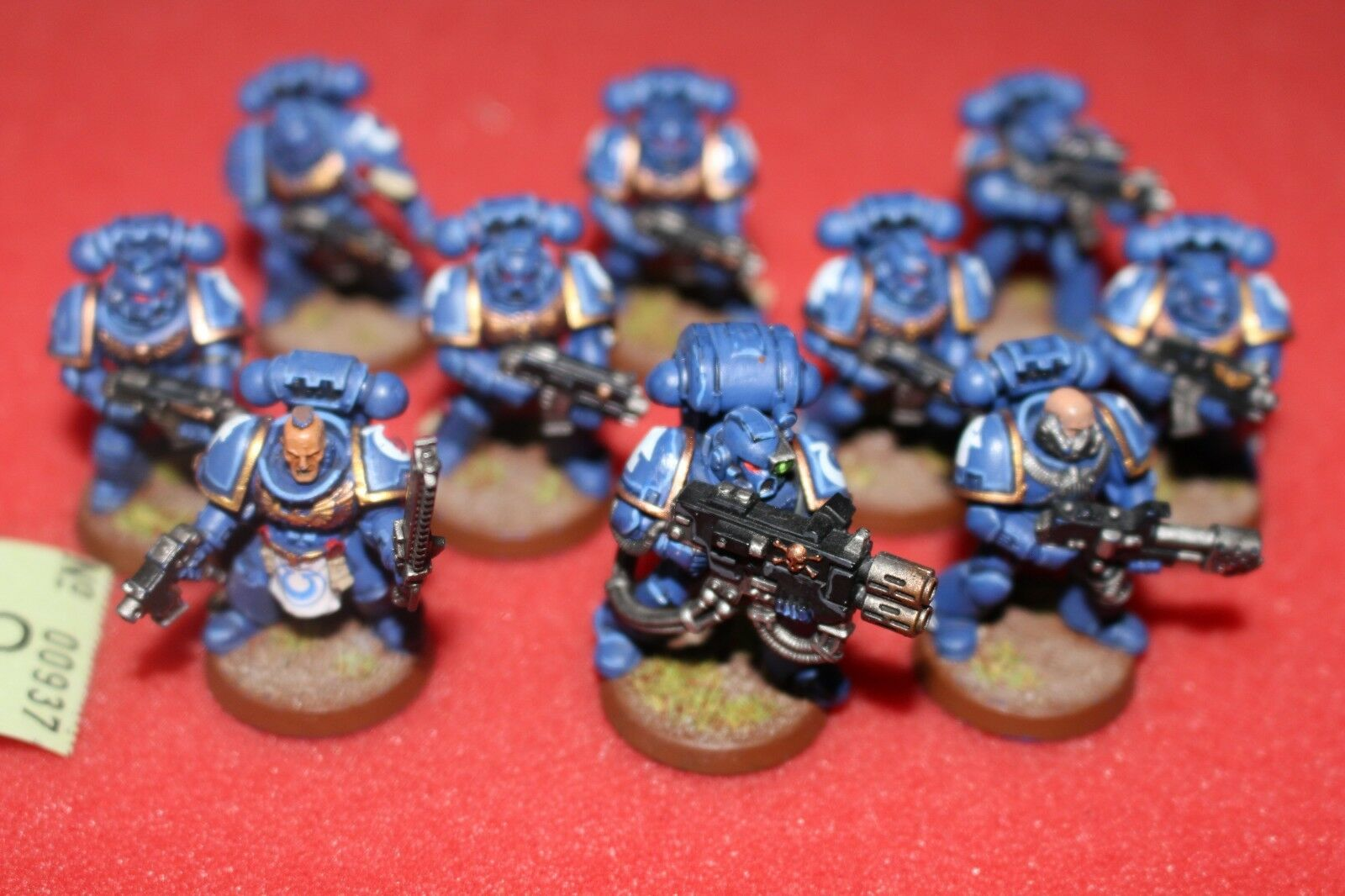 Games Workshop Warhammer 40k Ultramarines Tactical Squad Well Painted Army GW B2