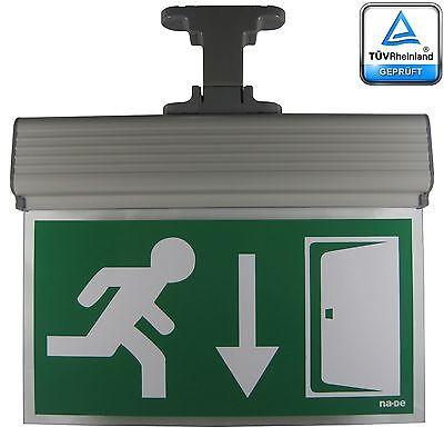 Notleuchte Notbeleuchtung Notausgang Fluchtwegleuchte Notlicht Fluchtweg Exit