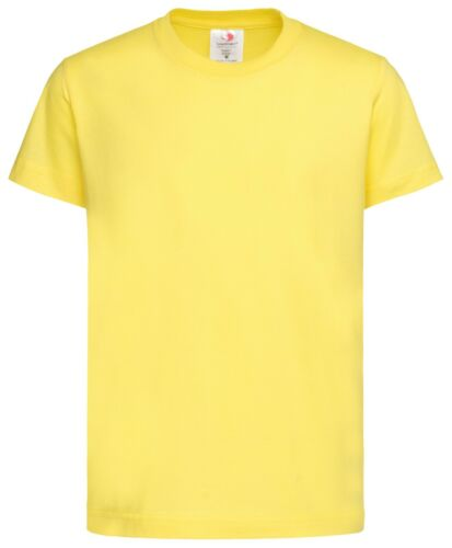 Plain Cotton Kids Childrens Boys Girls Childs Boys Girls Tee T-Shirt Tshirt