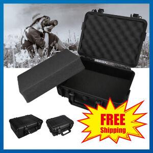 Shockproof-Weatherproof-Hard-Case-Storage-Dry-Box-For-DSLR-HD-Camera-w-Foam