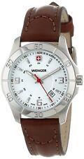 Wenger Women's 70490 'Alpine' Brown Leather Watch