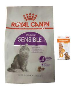 10 kg de nourriture pour chat Royal Canin Sensible 33 pour chat, frais