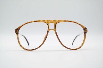 Ambizioso Viennaline Vintage 1326 58 [] 12 130 Marrone Oro Ovale Occhiali Eyeglasses Nos- Alta Qualità
