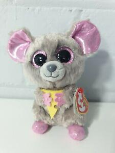 TY-Beanie-Boo-Plush-Squeaker-il-mouse-15cm
