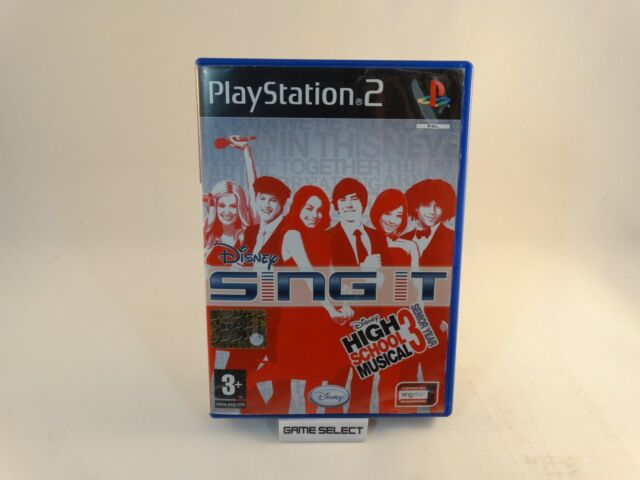 DISNEY SING IT HIGH SCHOOL MUSICAL 3 SENIOR YEAR SONY PS2 PAL ITALIANO COMPLETO