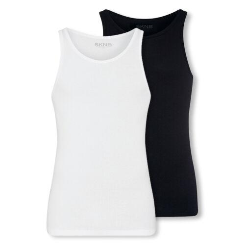 4er Pack Skiny sknb hommes tank tops aisselle shirts maillots de corps choix de couleur 2er