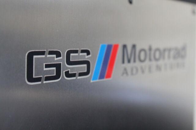 BMW Motorcycle Motorrad, 3 per set, 3M Reflective Decal Sticker R1200GS GSA F800