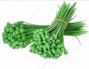 Jardin-Verde-Cable-correas-cintillos-de-plastico-varias-tallas