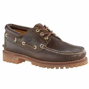 Détails sur Timberland 3 yeux bruns (Z107) 30003 Heritage Classic Lug Homme Chaussures Bateau TOUTES TAILLES afficher le titre d'origine