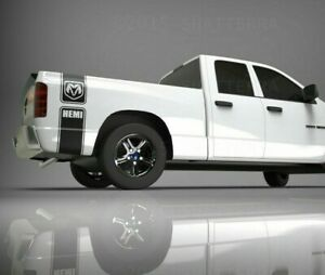 Dodge-Ram-1500-Vinyl-Decal-Side-Stripes-Kit-4x4-Hemi-Rebel-Off-Road-5-7-L-New