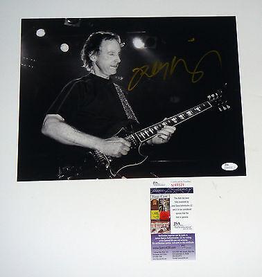 Rock & Pop Entertainment Memorabilia The Doors Hof Guitarist Robby Krieger Signed 11x14 B/w Photo Jsa Cert Coa Good Taste