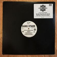 "Gang Starr (featuring Jadakiss) - Rite Where U Stand 12"" Single Vinyl 2003"
