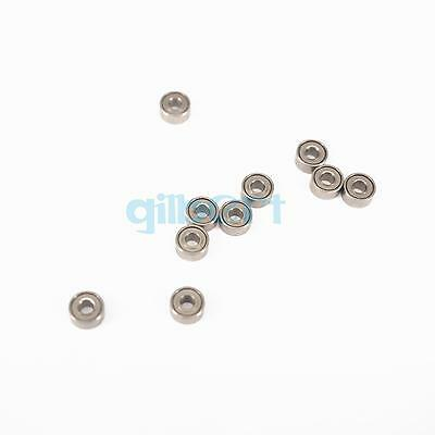 1.5 x 4 x 1.2mm Micro Shielded Deep Groove Ball Thin-Section Radial Bearing 10
