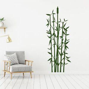 Wandtattoo wandsticker wandaufkleber flur badezimmer bambus gras wt024 ebay - Wandsticker bambus ...
