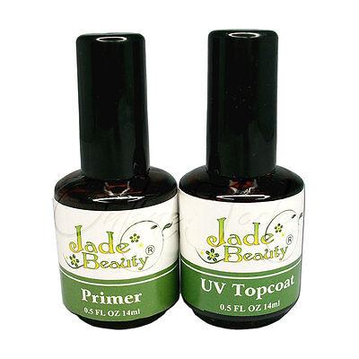 Nail Art Top Coat Primer Base UV Gel Acrylic Polish Gloss Manicure Tip DIY Tool