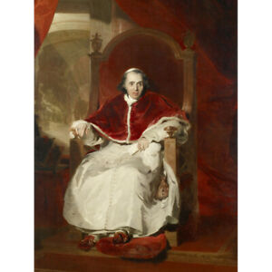 Lawrence-Portrait-Catholic-Pope-Pius-VII-Painting-Canvas-Wall-Art-Print-Poster
