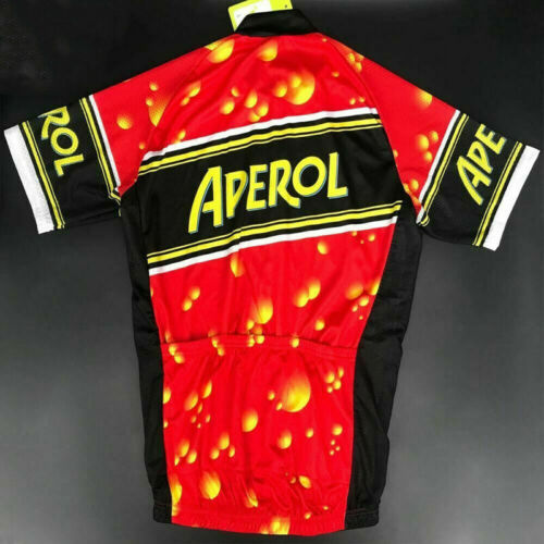 Details about  /APEROL RETRO Cycling BIKE Jersey Shirt Tricot Maillot